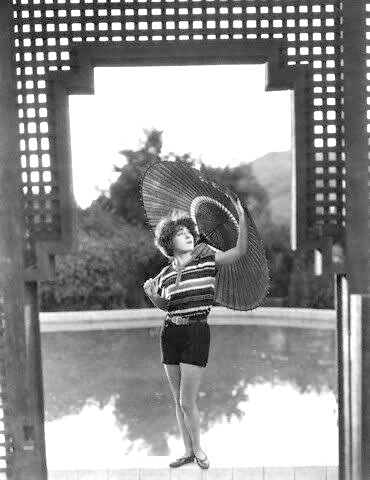 "1925: Alla Nazimova with parasol from ""My Son"""