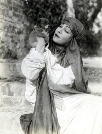 "1918: Alla Nazimova in ""Revelation"""
