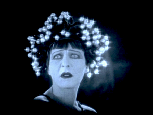 "1923: Close up of Alla Nazimova in ""Salome"""