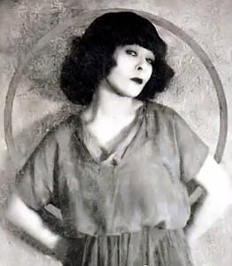 Alla Nazimova portrait (hands behind her back)