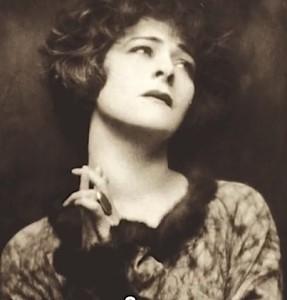 Portrait of Alla Nazimova (hands in front)