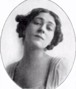 Portrait of Alla Nazimova (oval frame)