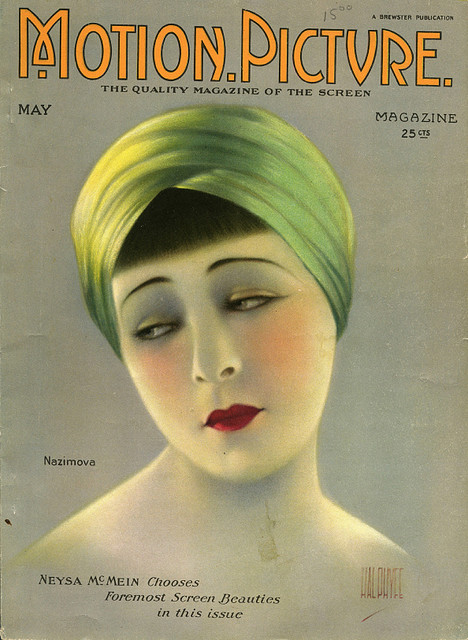 Alla Nazimova - Motion Picture Magazine [United States] (May 1923)