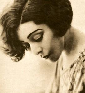 Alla Nazimova (looking down)