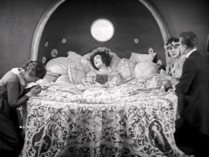 """1921: Alla Nazimova's death scene in """"Camille."""""""