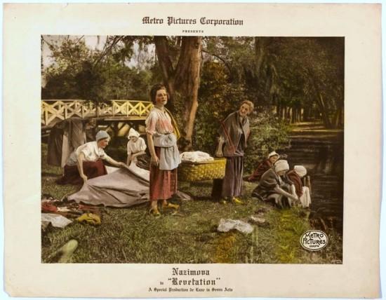 nazimova in revelation 1918