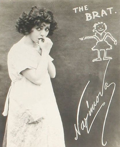 "Publicity still from Metro Pictures' ""The Brat,"" starring Alla Nazimova"