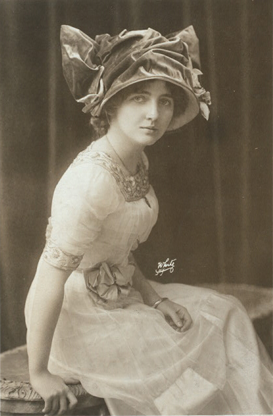 Edith Luckett, from the Billy Rose Theatre Collection photograph file at the New York Public Library