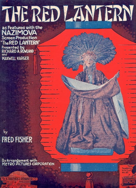 "Alla Nazimova In ""Red Lantern"" (1919)"