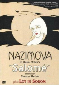 "1923: Poster for ""Salome"" starring Alla Nazimova"