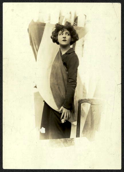 undated Alla Nazimova photograph